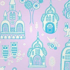 Majvillan Unisex Home accessories Multi Wallpaper Slottsträdgården PUR