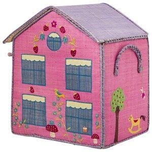 RICE A/S Unisex Storage Pink Cottage Storage Box