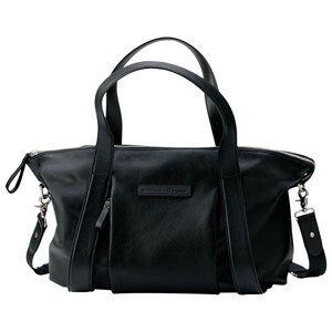 Bugaboo Unisex Bags Black Storksak Leather Diaper Bag