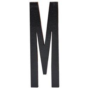 Design Letters Unisex Home accessories Black Black Wooden Letters M