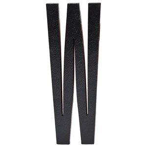 Design Letters Unisex Home accessories Black Black Wooden Letters W