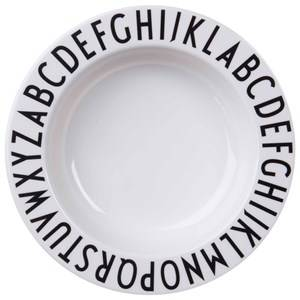 Design Letters Unisex Norway Assort Tableware Multi Melamine Deep Plate