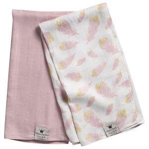 Image of Elodie Details Unisex Textile Pink Bamboo Muslin Blanket