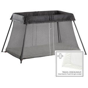 Babybjörn Unisex Furniture Black Travel Crib Light Black