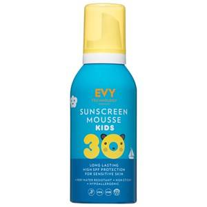 EVY Technology Unisex Baby Gear Camping equipment Blue SPF 30 Kids Sunscreen Mousse – 150 ml