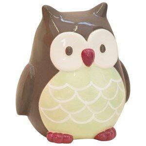 Kids Concept Unisex Storage Green Money Box Owl Pumpkin
