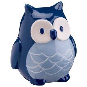 Kids Concept Unisex Storage Blue Money Bank Pumpkin Owl Blue