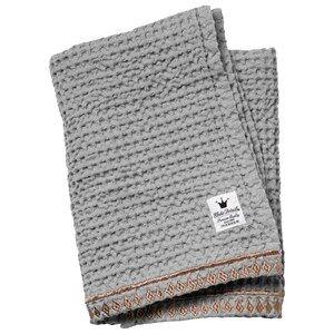 Image of Elodie Details Unisex Textile Grey Waffle Blanket Gilded Grey