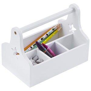 Kids Concept Unisex Storage White Star Storage Box White