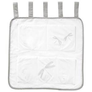 Vinter & Bloom Unisex Storage White Fine Embroidery Crib Storage