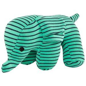 Geggamoja Unisex Soft toys Green Elephant Green/marine