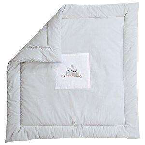 Baby Dan Unisex Norway Assort Textile Grey Play Mat Love Birds Grey 100x100 Cm