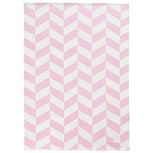 Kids Concept Unisex Textile Pink Barnkammaren Cotton Rug Pink