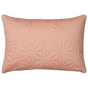 Cam Cam Unisex Textile Pink Cushion Quilt Rectangular in Blush