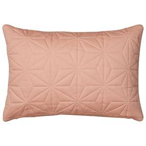 Cam Cam Unisex Textile Pink Cushion Quilt Rectangular in Blush