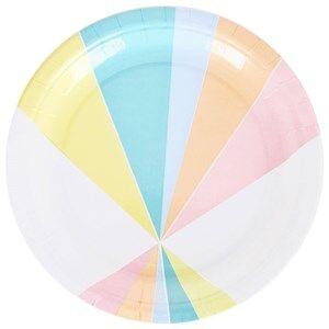 My Little Day Unisex Tableware Multi 8 Paper Plates - Pastel