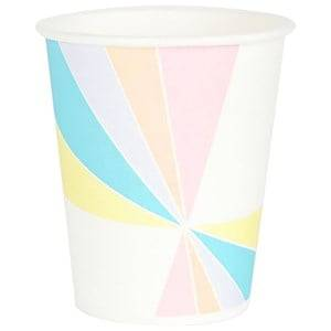 My Little Day Unisex Tableware Multi 8 Paper Cups - Pastel