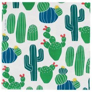 My Little Day Unisex Tableware Multi 20 Paper Napkins - Cactus