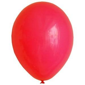 My Little Day Unisex Tableware Red 10 Balloons - Red