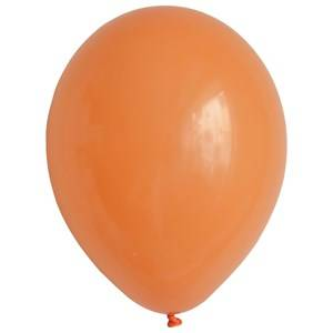 My Little Day Unisex Tableware Orange 10 Balloons - Orange