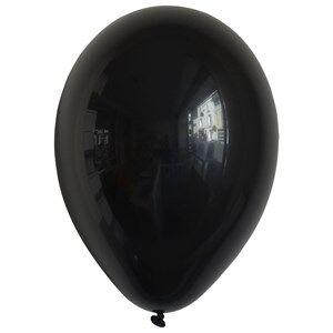 My Little Day Unisex Tableware Black 10 Balloons - Black