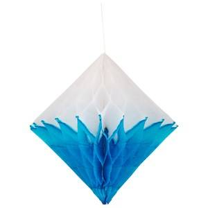 My Little Day Unisex Tableware Blue Honeycomb Paper Diamond - Turquoise & White