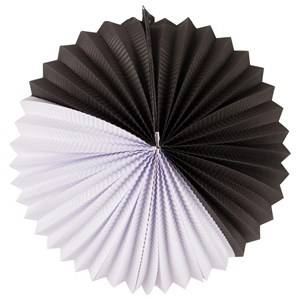 My Little Day Unisex Tableware Black Paper Lantern - Black & White