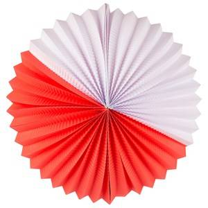 My Little Day Unisex Tableware Red Paper Lantern - Red & White