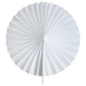 My Little Day Unisex Tableware White Paper Fan - White