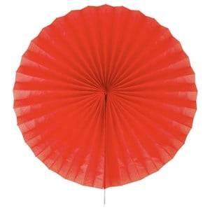My Little Day Unisex Tableware Red Paper Fan - Red