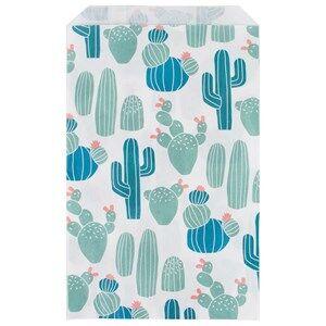 My Little Day Unisex Tableware Multi 10 Paper Bags - Cactus