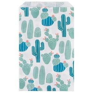 My Little Day Unisex Tableware Multi 10 Paper Bags - Cactus