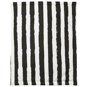 Noe & Zoe Berlin Unisex Textile White Playmat Retangle Black Stripes XL