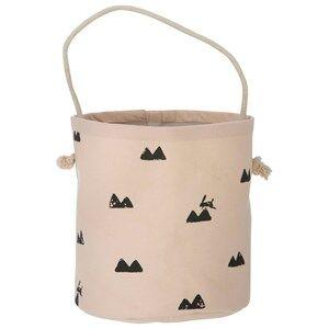 ferm LIVING Unisex Storage Pink Rabbit Basket - Mini