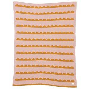 ferm LIVING Unisex Textile Multi Little Half Moon Blanket