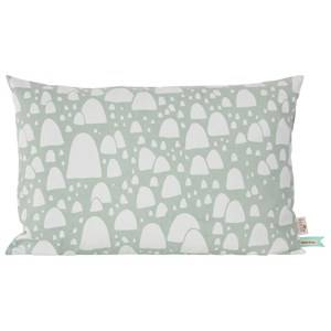ferm LIVING Unisex Textile Green Mountain Tops Cushion - Mint