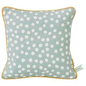ferm LIVING Unisex Textile Blue Dots Cushion - Dusty Blue
