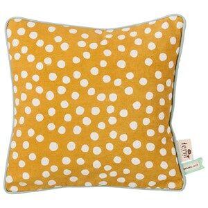ferm LIVING Unisex Textile Yellow Dots Cushion - Curry
