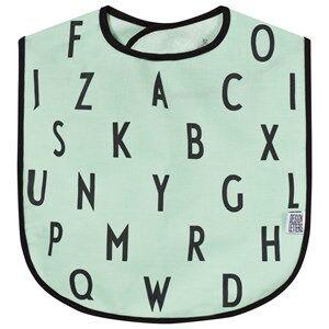 Design Letters Unisex Norway Assort Baby feeding Turquoise AJ Bib Turquoise
