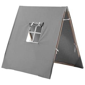 Kids Concept Unisex Role play Grey Tent X Grey