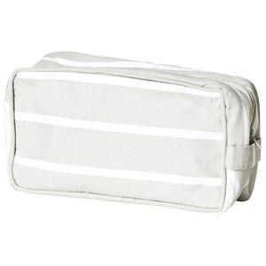 Geggamoja Unisex Baby Gear Stroller accessories Grey Organizer Grey/White