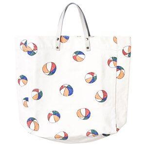 Bobo Choses Unisex Bags White Tote bag Basket Ball Off White
