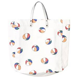 Bobo Choses Unisex Bags White Tote bag Basket Ball Off White