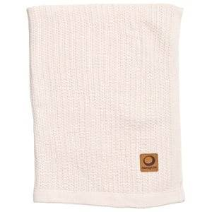 Image of Easygrow Unisex Norway Assort Textile Cream Grandma Knitted Blanket Off White