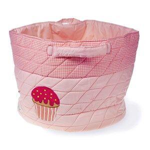 oskar&ellen; Unisex Storage Pink Cupcake Basket