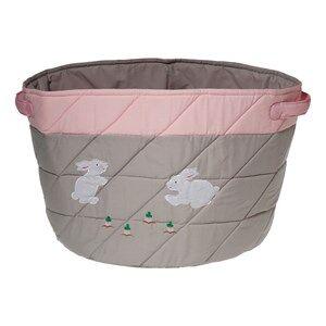 oskar&ellen; Unisex Storage Grey Storage Basket Rabbits