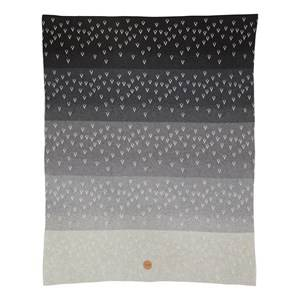ferm LIVING Unisex Textile Grey Little Gradi Blanket