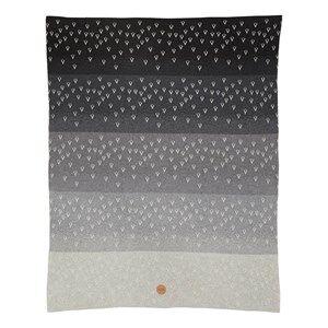 ferm LIVING Unisex Textile Grey Little Gradi Blanket