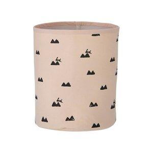 ferm LIVING Unisex Storage Pink Rabbit Basket - Small