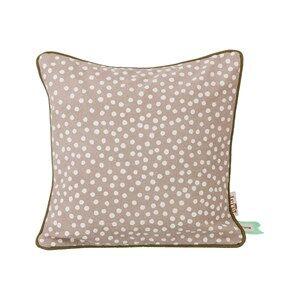 ferm LIVING Unisex Textile Grey Dots Cushion - Grey